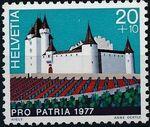 Switzerland 1977 PRO PATRIA - Castles a