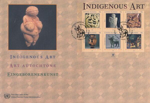 United Nations-New York 2004 Indigenous Art p