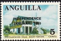 Anguilla 1969 Independence e