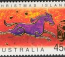 Christmas Island 2002 Year of the Horse