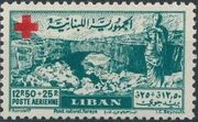 Lebanon 1947 Surtax for the Red Cross a