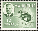Mauritius 1950 Definitives g