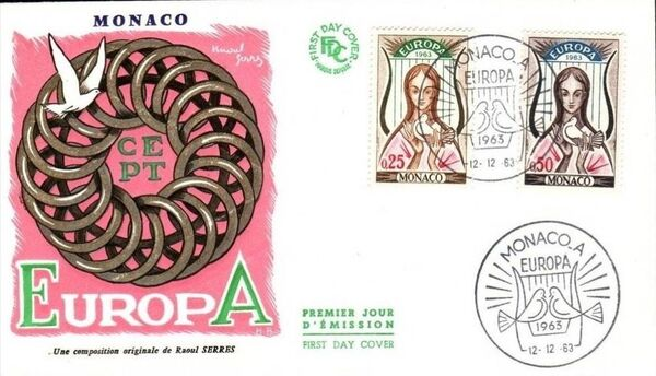 Monaco 1963 Europa f