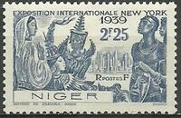 Niger 1939 New York World's Fair b