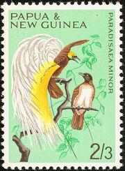 Papua New Guinea 1965 Birds e