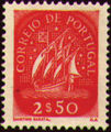 Portugal 1943 Portuguese Caravel (3rd Issue) a.jpg