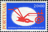Portugal 1976 50th Anniversary of the Portuguese Authors Association d