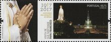 Portugal 2017 His Holiness Francis at the Celebration of the Centennial of the Apparitions at Fatima c