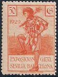 Spain 1929 Seville-Barcelona Exposition j