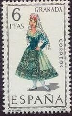 Spain 1968 Regional Costumes Issue h