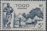 Togo 1947 Native Scenes j