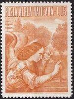 Vatican City 1956 Archangel Gabriel c