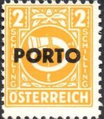 Austria 1946 Occupation Stamps of the Allied Military Government Overprinted in Black n