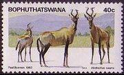 Bophuthatswana 1983 Pilanesberg Nature Reserve d