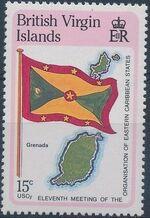 British Virgin Islands 1987 11th Meeting of the Organization of Eastern Caribbean States b