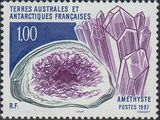 French Southern and Antarctic Territories 1997 Minerals - Amethyst