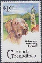 Grenada Grenadines 1993 Dogs d