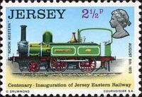 Jersey 1973 Centenary of Jersey Eastern Railway a