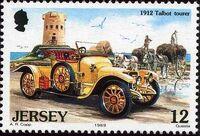 Jersey 1989 Vintage Cars a