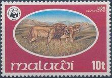 Malawi 1978 WWF Wildlife b