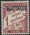 Martinique 1927 Postage Due Stamps of France Overprinted i.jpg