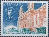 Monaco 1979 100 Years Opera Hall Salle Garnier f