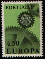 Portugal 1967 Europa c