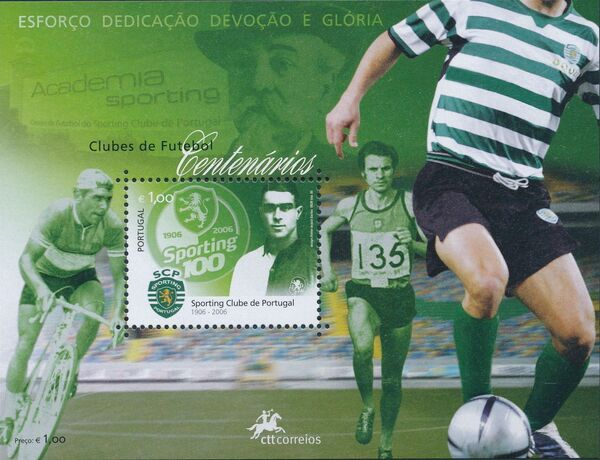 Portugal 2005 Centennial football clubs j