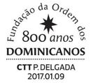 Portugal 2017 800 Years of the Foundation of Dominicans Order PMd
