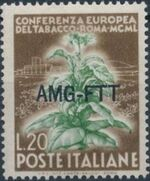 Trieste-Zone A 1950 European Tobacco Conference b