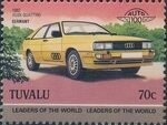 Tuvalu 1985 Leaders of the World - Auto 100 (2nd Group) l