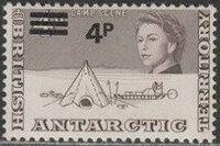 British Antarctic Territory 1971 Definitives Decimal Currency g