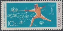 Cuba 1964 Summer Olympics - Tokyo e