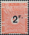 French Somali Coast 1927 Postage Due Stamps Surcharged a