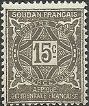 French Sudan 1931 Postage Due c