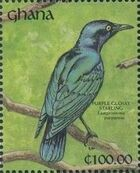 Ghana 1991 The Birds of Ghana zk