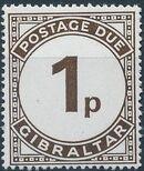 Gibraltar 1971 Postage Due Stamps b
