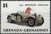 Grenada Grenadines 1983 The 75th Anniversary of Ford T j