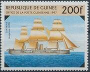 Guinea 1997 19th Century Warships a