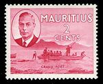 Mauritius 1950 Definitives b