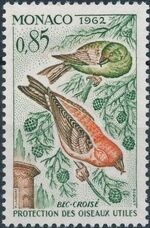Monaco 1962 Protection of Useful Birds i