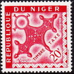 Niger 1962 Cross of Agadez - Postage Due Stamps h