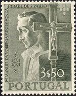 Portugal 1954 400th Anniversary of Founding of Sao Paulo, Brazil c