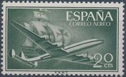 Spain 1956 Plane and Caravel (2nd Group) a