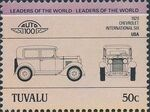 Tuvalu 1984 Leaders of the World - Auto 100 (1st Group) i