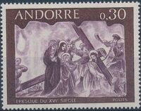 Andorra-French 1968 Frescoes b