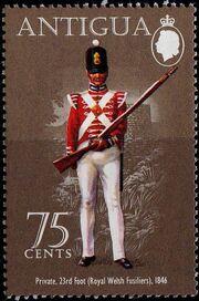 Antigua 1974 Military Uniforms e