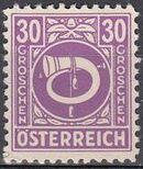 Austria 1945 Posthorn l