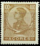 Azores 1910 D. Manuel II j