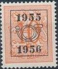 Belgium 1955 Heraldic Lion with Precancellations b